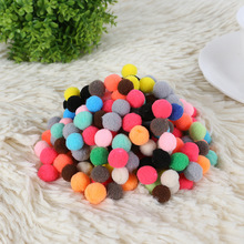 Ponpon 8-30mm Multi Pompoms Mixed Color Soft Fluffy Pom Poms Balls DIY Wedding Home Decoration Accessories for Children Toys