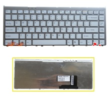 SSEA Brand New US keyboard for SONY VGN-FW FW16 FW17 FW18 FW19 FW27 laptop keyboard with frame(China)