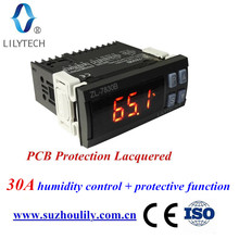 ZL-7830B 30A 100-240VAC Mini Digital Air Humidity Controller incubator Meter Sensor higrometre hygrostat station lilytech(China)