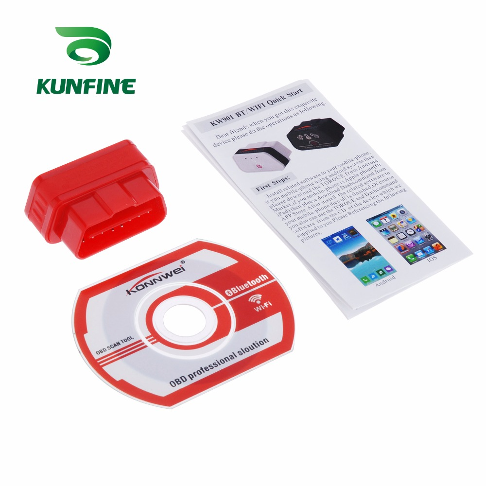Auto Diagnostic Tool Car engine code Scanner Vehicle fault reader KF-A1184_8220