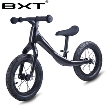 BXT 12inch Carbon fiber Frame Children Bicycle carbon Kids balance Bicycle 2~6 Years Old Child carbon complete bike kids