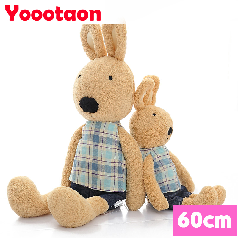 60cm big size cute rabbit dolls le sucre bunny kids toys can take off clothes.<br><br>Aliexpress