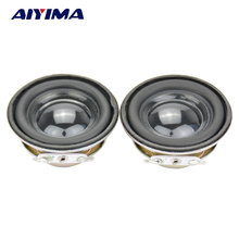 Aiyima 2Pcs Tweeter Audio Portable Speaker Louderspeaker Radio Round Speakers 2 Inch 4 Ohm 3 W(China)