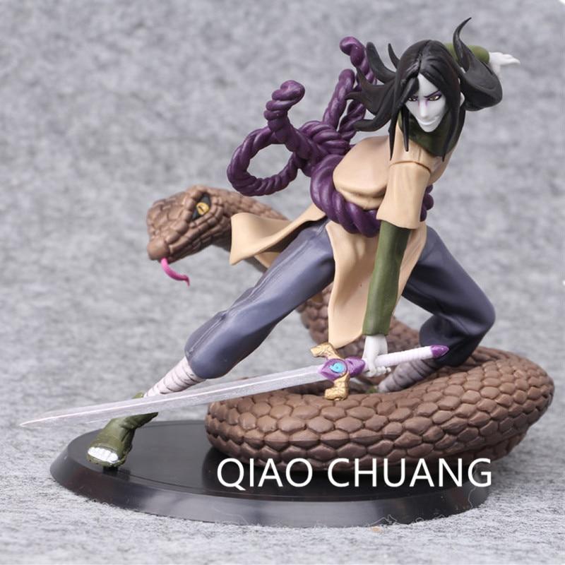 Japanese Anime Naruto Shippuden Uchiha Sasuke PVC Collection Figure Figurine 5cm
