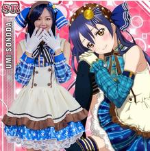 Cosplay Love Live Japanese Anime Candy Packed Cos Star Rin Maid Costume French Coffee Shop The Maid Costume