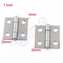 "High Quality of 20pcs Small 1"" Metal Butt Hinge 25mm"