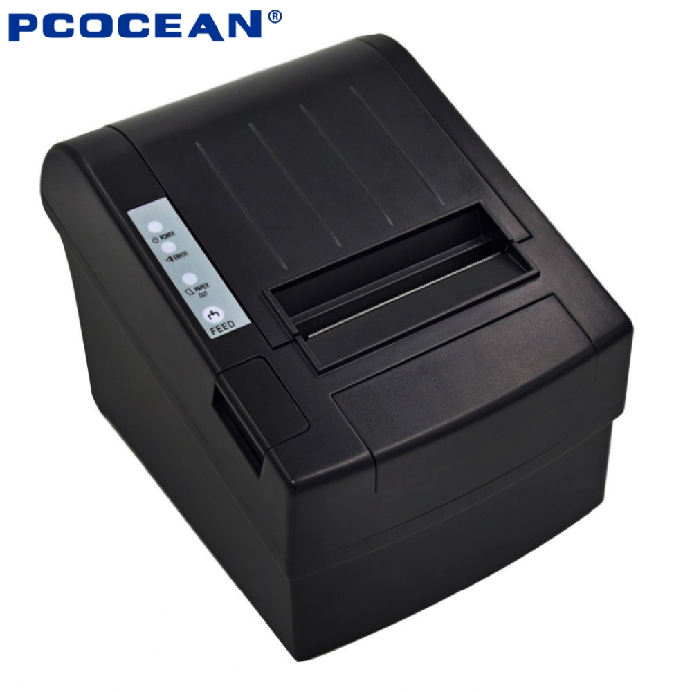 5PCS 80mm pos printer High Speed thermal receipt printer automatic cutting USB+Ethernet ports 300 mm/s_DHL<br><br>Aliexpress