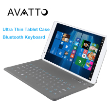 Universal 9.7 Ultra Thin Bluetooth Wireless Folding Tablet Keyboard Protective Cases for Android IOS Windows Tablet ipad air 2(China)