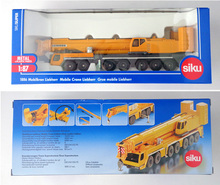 New Super SIKU 1886 Diecast cars 1:87 scale alloy Sliding construction crane model Project Car Toys children's educational toys