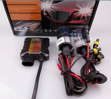 by DHL or EMS 10pcs H1, H3, H7, H8, H9, H10, H11 4300K 6000K 8000K Single beam HID KIT SET 35W 55W HID XENON SYSTEM DC12V(China)