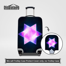 Dispalang Thick Elastic Perfectly Case On Suitcase For Women Portable Wearable Travel Luggage Protect Cover For 18-30 Inch Trunk(China)