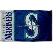 Seattle Mariners Large Banner Baseball Flag 3' x 5'