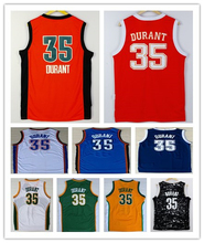 Wholesale Men's Kevin Durant Jersey Navy Blue White Cheap Stitched 2016 New Orange #35 Kevin Durant College basketball Jerseys