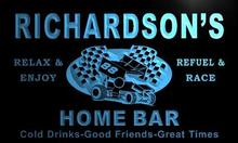 x1063-tm Richardson's Home Bar Pit Stop Custom Personalized Name Neon Sign Wholesale Dropshipping On/Off Switch 7 Colors DHL