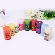 8 Scents Aromatherapy Smokeless Candles 5 x 7.5cm  Aromatherapy Essential Oil Wedding Candles Romantic Scented Candles