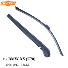 QEEPEI Rear Wiper Blade & Arm For BMW X5 (E70),5-door SUV 38CM 2006-2013 Car Accessories For Auto Wipers,RBW14-2A