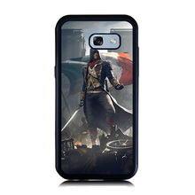 Handsome Leader Warrior Print Case for Samsung Galaxy A3 A8 A5 A7 2017 2016 Soft Rubber Plastic Cellphone Back Slim Cover(China)