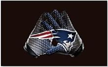 New England Patriots USA Team Logo Premium Team Football Flag 3X5FT polyester banner 100D