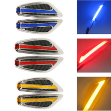 2PC Steering Light Fender Side Lamp Hot Sale DC12V Blade Shape Auto Car LED Lights Marker Turn Signal Light Red White Blue Amber
