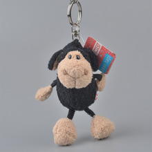 5 Pcs Black Sheep Pendant Stuffed Plush Keyring, Key holder / Keychain Gift Free Shipping