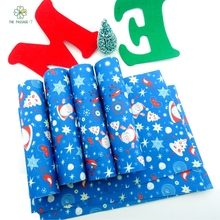 Printed fleece christmas felt fabric new arrival polyester soft felt from home textiles for sewing dolls handicrafts 18x15cmSD-3