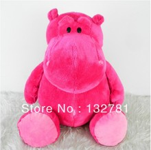 NICI Plush Toy, 25cm Red Hippo for Cute Baby/ Kids Gift, Plush Doll Free Shipping
