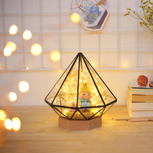 NEW Creative Fire Tree Bedside Night Lamp Romantic Present Starlight Filled the Sky Bedroom Living Room LED Table Light Fixture