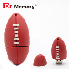 rugby ball style 64gb usb flash drive pen drive 16G disk Memory Sticks 4G Pendrive For gift tiny memoria stick oem 8gb pendrive(China)