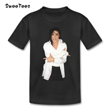 Michael Jackson Rock N O Neck T Shirt Baby Cotton Roll Star 2017 T-shirt For Boy Girl Short Sleeve Tshirt children's Tee-shirt