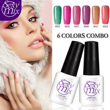 Formaldehyde Free Safe Glitter UV / LED Nail Gel Polish The Best Vegan Nail Gel For Baby And Fashion Lady Daily Use