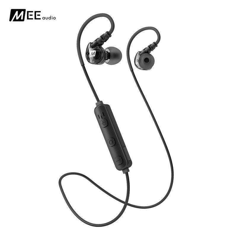 New original MEE X6 Plus Stereo Bluetooth Wireless Sports In-Ear Headphones earphones For iPhone smartphones PK MEE M6 pro<br>