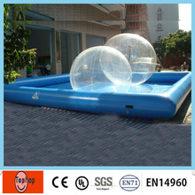 Free Shipping PVC China Manufacture Inflatable Swimming Pools for Both Kids and Adults(China)
