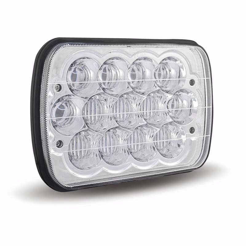 7X6 inch led headlight bulbs 5D HI /LOW sealed beam For Wrangler GMC Safari F-150 Super Heavy duty series 4WD 39W <br>