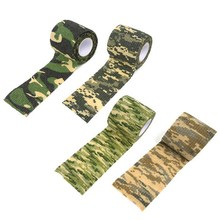 Buy 1 Rolls Self-adhesive Non-woven Bike Stickers Camouflage Wrap Rifle Hunting Shooting Cycling Tape Waterproof Camo Stealth Tape for $1.09 in AliExpress store
