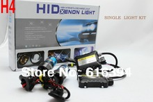Free shipping,new products,12v 35w,HID XENON KIT,H4,SINGLE BULB 3000K,4300K,5000K,6000K,8000K,10000K,12000K