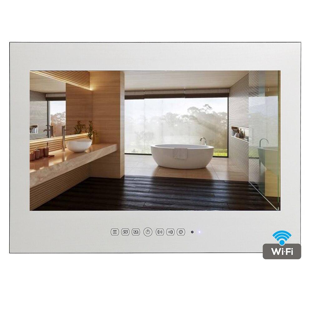 Soulaca 22 inch Frameless Smart Waterproof Magic Mirror Bathroom TV ...