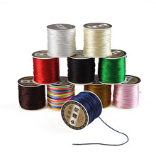 Trendy 1 mm Nylon String Wire Cord for Jewelry Making DIY Necklace Bracelet Braided Thread 70m Wholesale