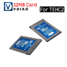 Free Shipping 32MB CARD FOR GM TECH2 6 kinds software original for gm tech 2 32mb card 32 MB Memory Tech 2 Card