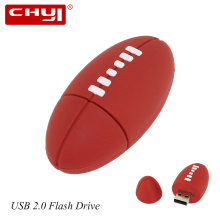 CHYI USB 2.0 Flash Drive American Football Sports Rugby Pen drive 64GB U Disk 2G 4G 8G 16G 32G Memory Stick Pendrive for Laptop