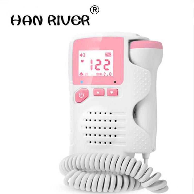 No radiation Doppler household test fetal fetal movement monitoring pregnant women listening to fetal monitor monitor stethoscop<br>