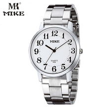 MK Mike Simple watch Mens watches gift for mom Quartz watch Clock Stainless steel  Water resistant Japanese movement reloj mujer