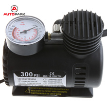 Portable Car/Auto DC 12V Electric Air Compressor/Tire Inflator 300PSI Automobile Emergency Air Pump