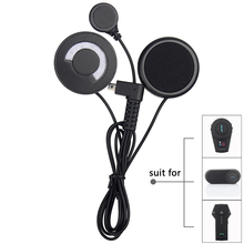 2017 New FreedConn soft microphone headphone earphone for FDCVB T-COMVB TCOM-SC COLO Bluetooth Motorcycle Helmet Intercom