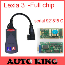2017 Best lexia3 with Full chip PCB !!! pps2000 Diagnostic Tool pp2000 lexia 3  DIAGBOX  + 30pin cables as a gift ! --free ship