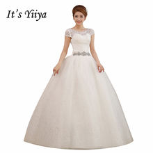 Buy 2017 Plus size Wedding O-neck Lace Short Sleeves Dresses White Cheap Bride Gowns Custom Made Real Photo Vestidos De Novia XXN005 for $37.91 in AliExpress store
