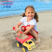 Beiens Brand Toys Construction Vehicle Children Loading Truck Beach Tools Set Sand Playing Engineering Vehicles Boys Toys(China)