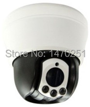 "10x Optical Mini PTZ High Speed Dome Camera w/ 1/3"" Sony CCD 700TVL Indoor IR 40m/131ft and Sony Camera Zoom Module"
