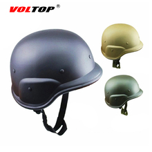 VOLTOP Retro Motorcycle Helmets Military Chopper German Classic Hats Bike Helm Outdoor Motocross Casque Head Protection 55-63 cm(China)