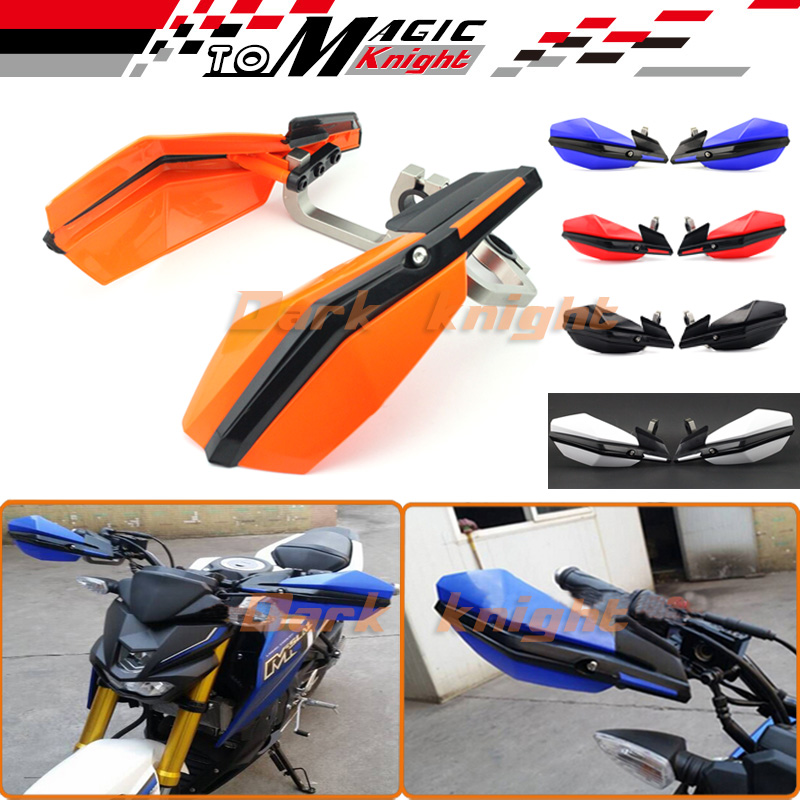 Free shipping For KTM Supermoto Motorcross 350 450 500 XC-W EXC SX-F Motorbike Off-road Bike Handguard Handlebar Hand Guard<br><br>Aliexpress