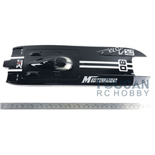 E32 KIT Cheetah / Germany Cat Fiber Glass Electric Racing Speed Boat Monohull KIT Hull Only Black